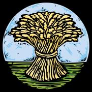 Wheatsheaf Woodcut